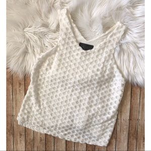 Anthropologie Sunday in Brooklyn Eyelet Tank Small